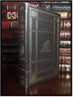 The Life and Public Services of Abraham Lincoln New Sealed Easton Press Leather