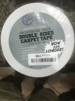 Professional Grade Double Sided Carpet Tape 2x40 Yd