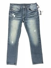 Buffalo David Bitton Max X Super Skinny Stretch Jean Men Size 32x30 Distressed