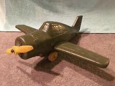 Vintage 1950's Grumman F6F Hellcat Blow-molded Hard Plastic Plane