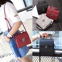 Ladies Handbag Leather Shoulder Bag Tote Satchel Messenger Cross Body UK