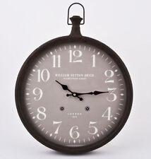 Orologi da parete analogici marrone in metallo