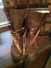 Doc Martens Ladies Boots Sz 5 12 Eyelets
