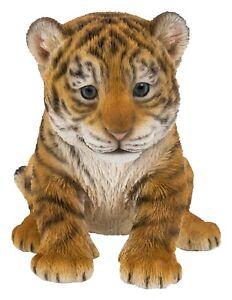 Vivid Arts Tiger Cub Home or Garden Decoration (PZ-TIGR-F)