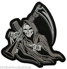 REAPER Skull  BIKER MC PATCH