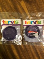 Tervis Lids!!!  10 Ounce!!!  Lot of 2!!!  Purple!!!  NEW IN PACKAGE!!!
