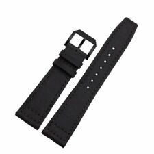 22mm Black 500D Cordua Watch Strap Band for Samsung Gear S3 and similar watches