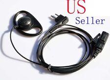EARPIECE FOR MOTOROLA RADIO CP200 PR400 CLS RDU WALKIE HEADSET PTT MICROPHONE