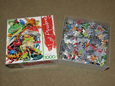SUPER COOL Frog Business Lori Anzalone 1000 pc puzzle - great for a nature lover