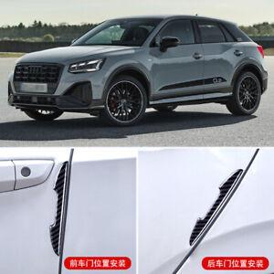 6pcs For Audi Q2 Car Side Door Edge Mirror Guard Bumper Trim Protector Stickers