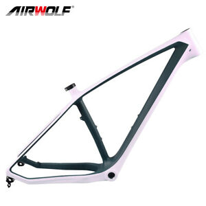 "Carbon Fat Bike Frame 197*12mm Thru Axle MTB 5.0"" 26er BSA Snow Bicycle Frameset"