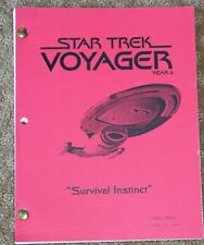 STAR Trek VOYAGER  TV SERIES SHOW SCRIPT EPISODE SURVIVAL