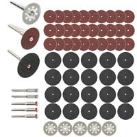 60Pcs/set Diamond Cutting Disc Saw Blade Grinding Wheel Set Rotary Tool Circular