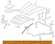 Chevrolet GM OEM 05-13 Corvette Hood-Side Weatherstrip Seal Right 15881442