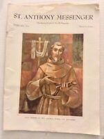St. Anthony Messenger Mag Saint Leonard  February 1956 072619nonrh