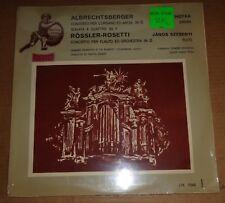 Lehotka/Szebenyi ALBRECHTSBERGER/ROSSLER-ROSETTI - Qualiton LPX 11349 SEALED