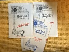More details for set of 5 theatre royal drury lane the king and i, my fair lady programmes 1953