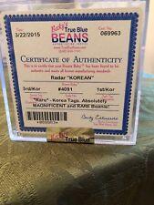 Ty Beanie Babies RARE Korean RADAR ... MWMT ... MQ...  3rd / Kor  1st/Kor