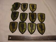 Esercito strisce Patch aufbügler ricamate distintivo STAFFA immagine ricamate immagine