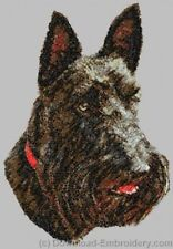 Embroidered Fleece Jacket - Scottish Terrier DLE2516 Sizes S - XXL