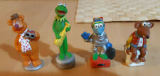 4 Jim Henson's Muppets Character Figures Kermit Gonzo Foggy the Bear Corn Flakes