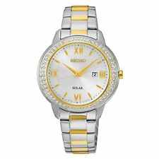 Seiko Recraft Silver Dial Stainless Steel Ladies Watch SUT246