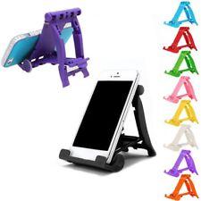 Handyhalter Smartphone & Tablet Halterung Tischhalter Ständer Faltbar Bunt
