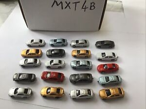 20 Pcs  Model Cars  model railway  Scenery detail  Layout Z Scale Z 1:220 MXT4B
