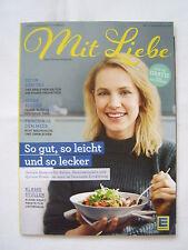 Mit Liebe Das Genussmagazin Edeka No. 1 Januar / Februar 2017 Rezepte Tipps Neu
