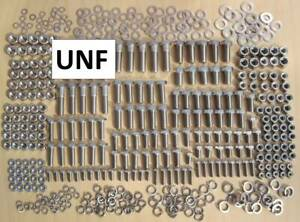 UNF 450+ piece, Stainless Steel Bolts, Nuts & Washer Pack suits Hillman Imp