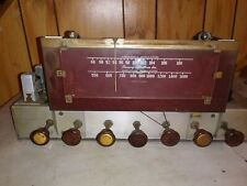 Browning laboratories RJ-20a am-fm tuner preamp tube amplifier untested as is
