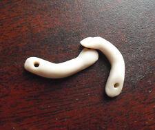 "Set of Vintage 1980s Porcelain Girl Miniature Doll Arms 7/8"" Long"