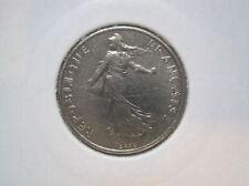 Frankreich 1/2  Francs  1978   CuNi  (029)