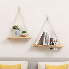 Wooden Flower Plant Pot Rack Holder Storage Shelf Stand Wall Hanging Organizer