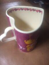 Winnie the Pooh Heart shaped mug DISNEY STORE Winnie the Pooh