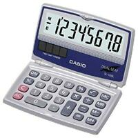 Casio Basic Solar Folding Compact Calculator