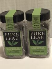 2 PURE LEAF ICED GREEN TEA WITH CITRUS INDONESIA ORIGIN 16 PYRAMID BAGS TOTAL 32