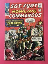 Sgt Fury And His Howling Commandos. #11   FN+.  (6.5).  Oct. 1964