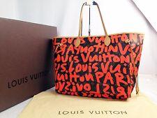 Louis Vuitton Monogram Stephen Sprouse GRAFFITI Neverfull GM Tote Bag 6E250010p