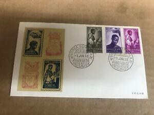 Spanish Guinea FDC 1955      Used    (folder 4075)