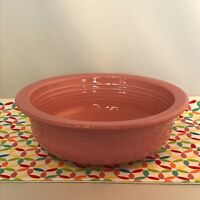 Fiestaware Rose Large Bowl Fiesta 40 oz Serving Bowl Retired Pink