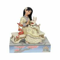 Jim Shore Disney Traditions White Woodland Honourable Heroine Mulan Figurine