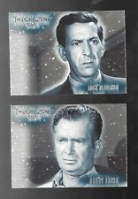 Twilight Zone Stars Cards S13 Buddy Ebsen S-16 Jack Klugman Tv Legends
