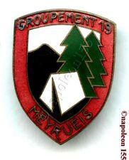 CHANTIER de JEUNESSE. CJF Groupement 19, MEYRUEIS. Fab. ABPD