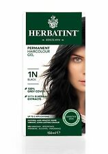 HERBATINT HERBAL NATURAL HAIR COLOUR DYE BLACK 1N 150ml - AMMONIA FREE