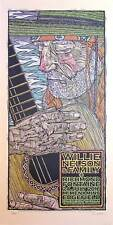 Willie Nelson Poster Richmond Fontaine McMenamins 2016 Signed Gary Houston