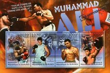 MUHAMMAD ALI / CASSIUS CLAY (70th Birthday) Boxer Boxing Stamp Sheet (2012)