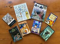 Ancient History Homeschool Lot of 8 Books to Enhance Curriculum, most like NEW