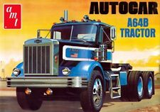 AMT 1099 AUTOCAR A64B SEMI TRACTOR TRUCK cab + chassis plastic model kit 1/25