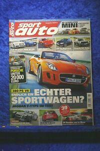 Sport Car 8/13 Dodge Viper SRT Golf Gti BMW M135i Jaguar Audi Rs 6 Avant
